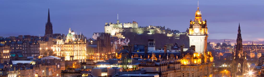 Edinburgh skyline different business registered office addresses