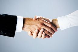 partners handshake agreement for LLP