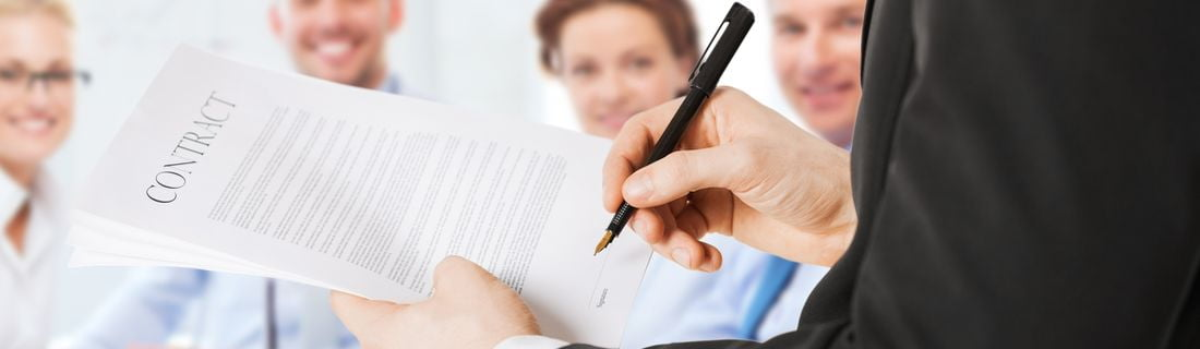 signing company documents
