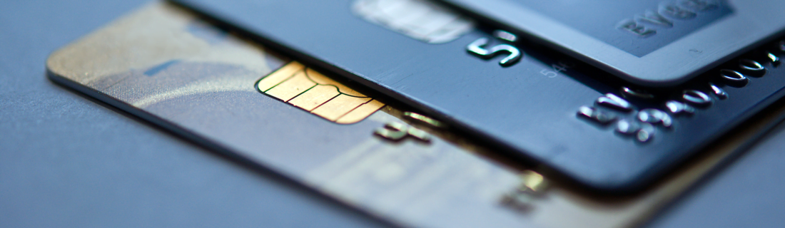 Debit cards as an example of payment methods available