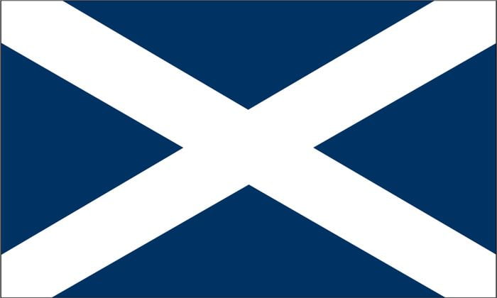 Scotland Flag for Scottish Address